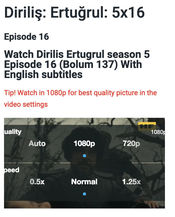 vimeo settings on iOS