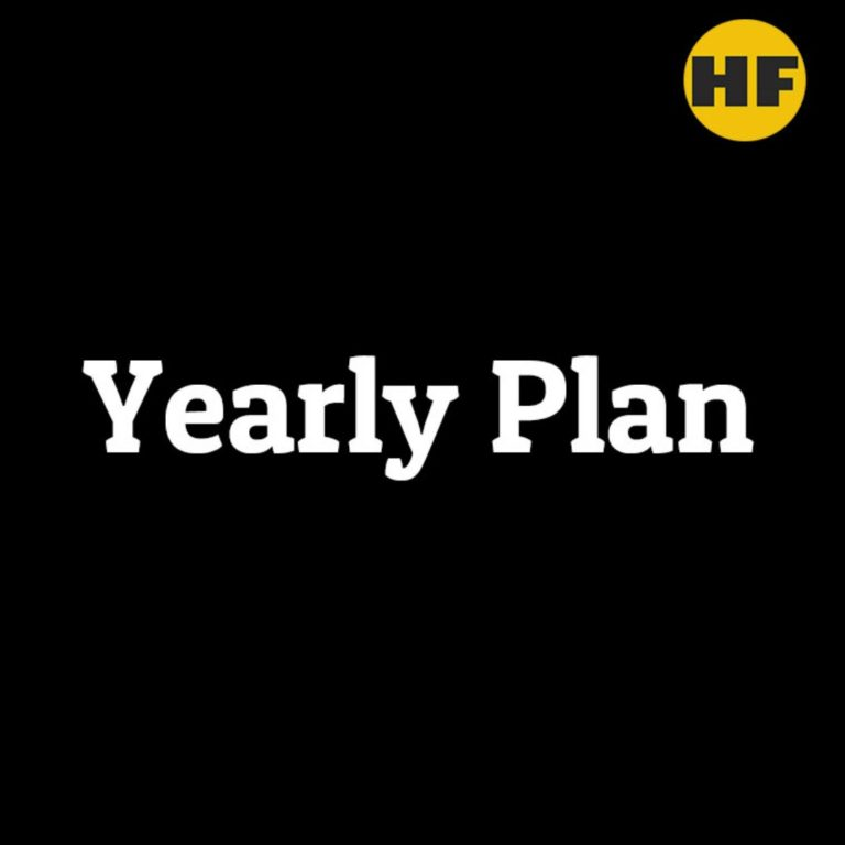 Yearly Plan