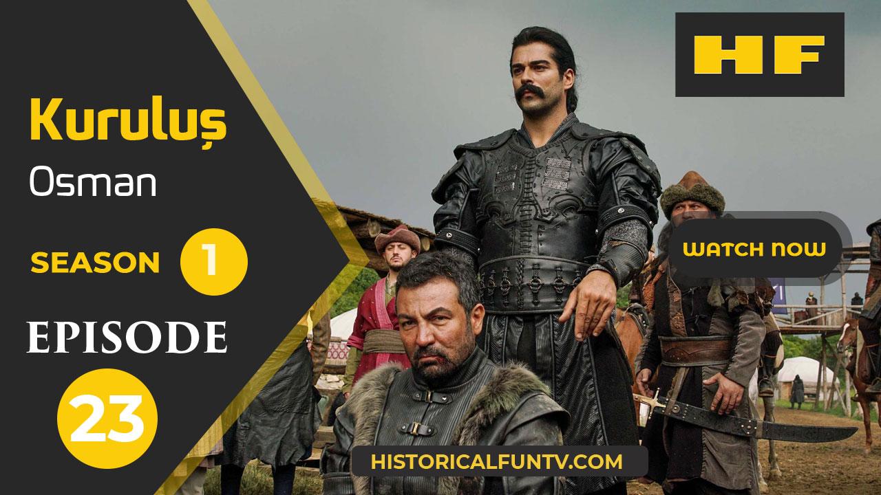 Kuruluş Osman Season 1 Episode 23