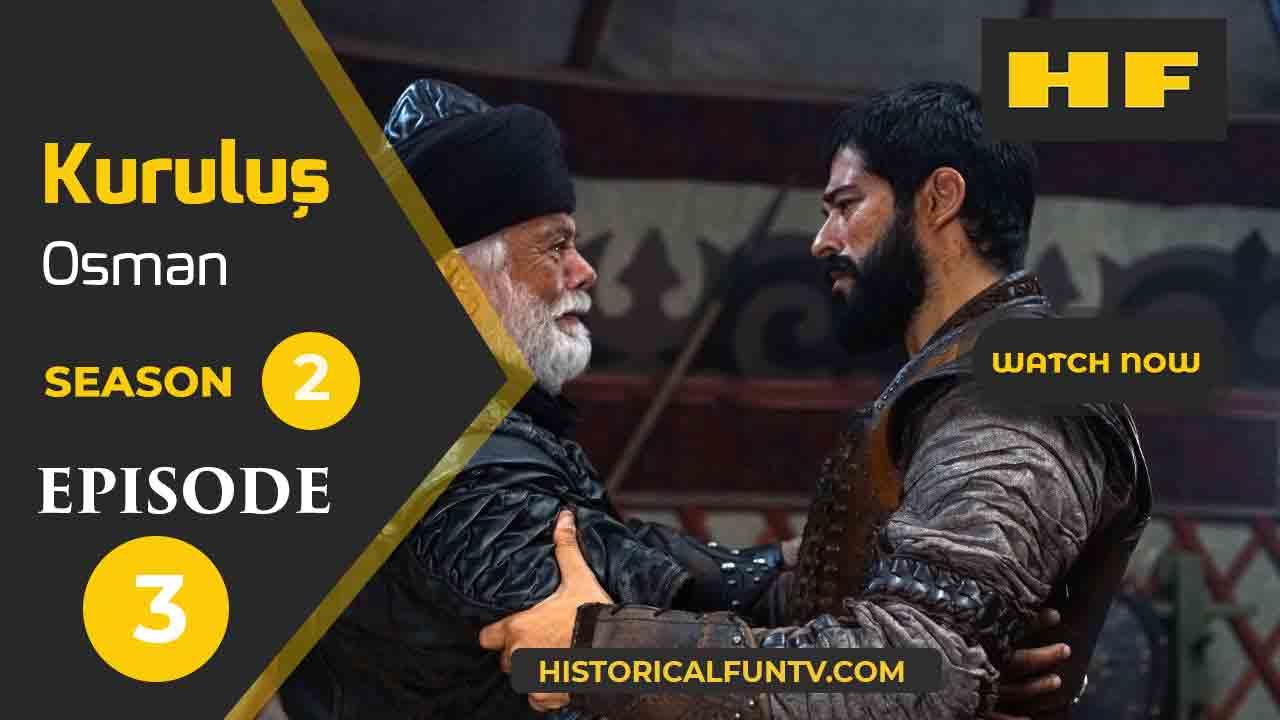Kuruluş Osman Season 2 Episode 3