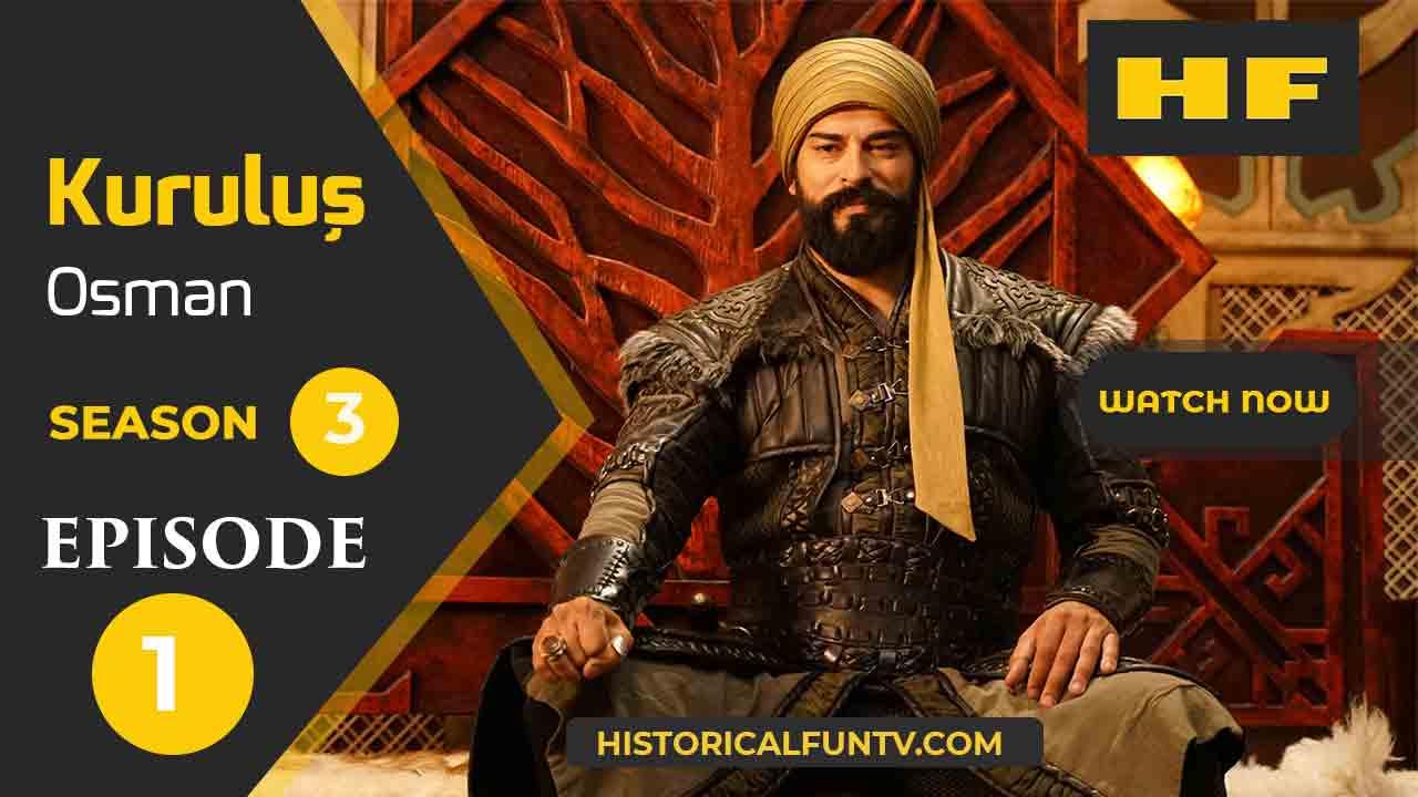 Kuruluş Osman Season 3 Episode 1